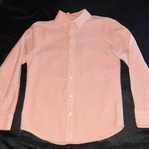 J Khaki Button Down Shirt